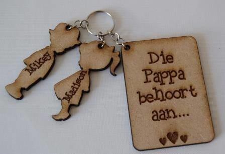 Dad Key Ring