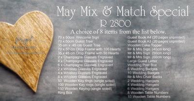 Mix  & Match Special