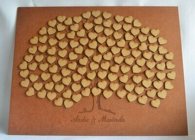 Engraved Guest Tree