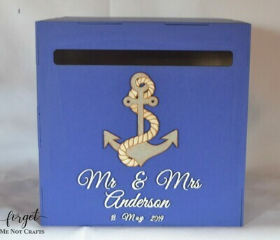 Nautical Themed  Box