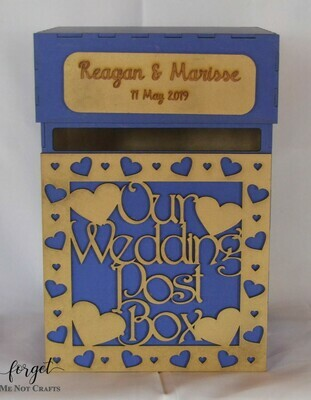 Our wedding Post   Box