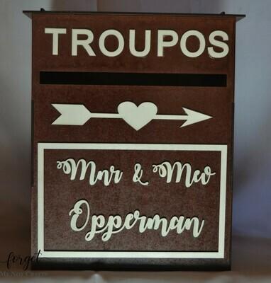 Troupos Flat top Box