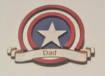 Captain America Badges