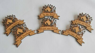 Protea Badges