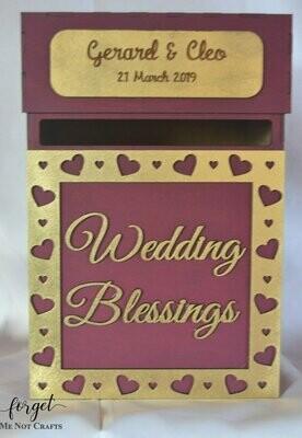 Wedding Blessing Post Box