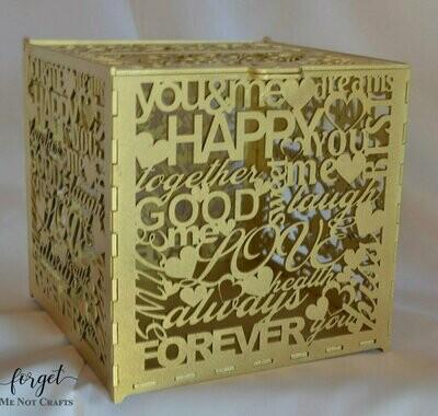 Wedding Words Post Box