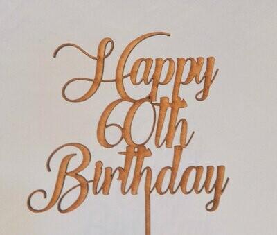 Happy 60th Birthday
