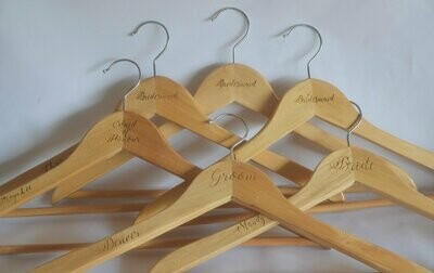 Engraved  Hanger