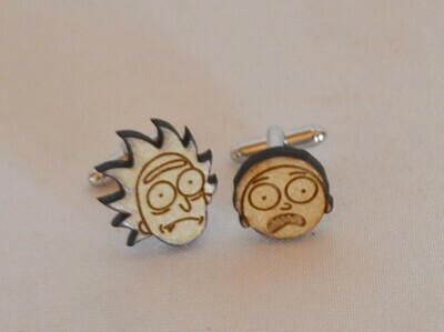 Cufflinks - Rick and Morty