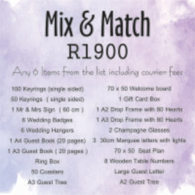 Mix and Match R1900