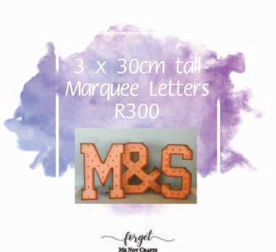 30cm Marquee Letter Special