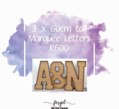 60cm Marquee Letter Special