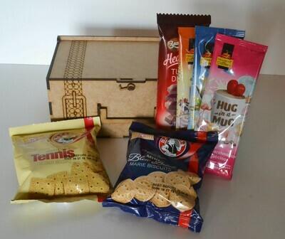 Sweet Treats Gift Box Filled
