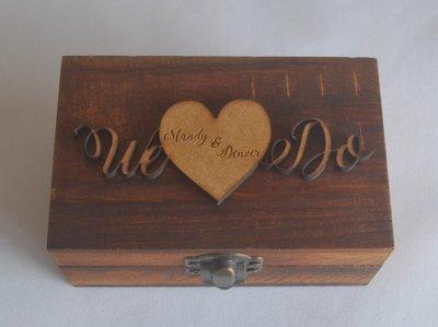 We Do  Ring Box