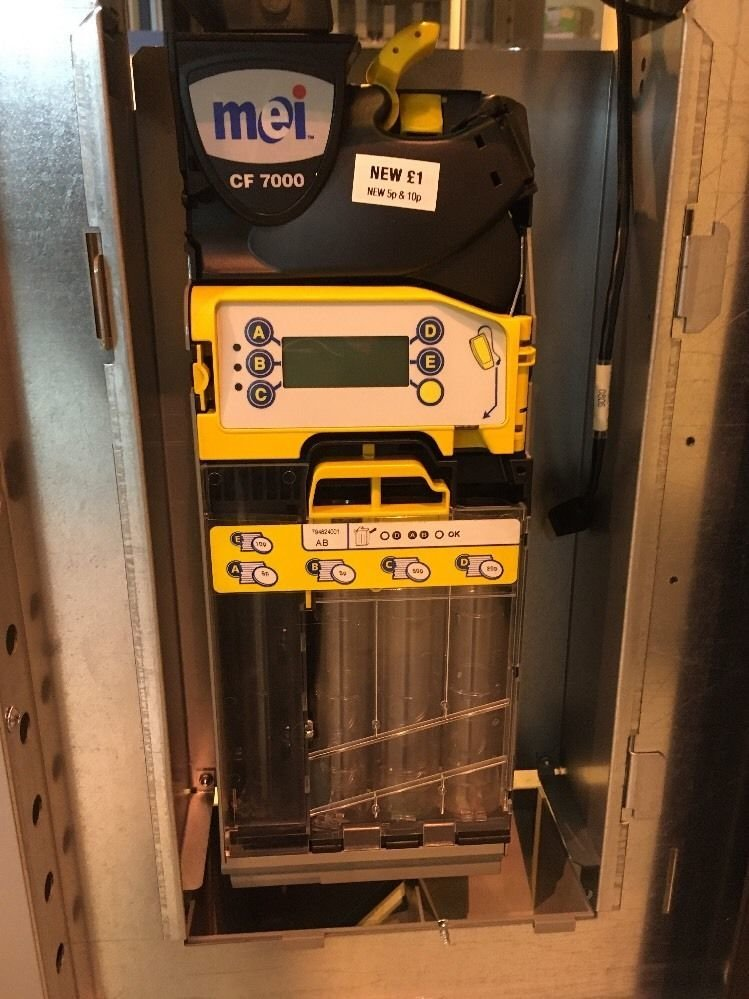 Vending machine Coin Acceptor Fully refurbished with Warranty