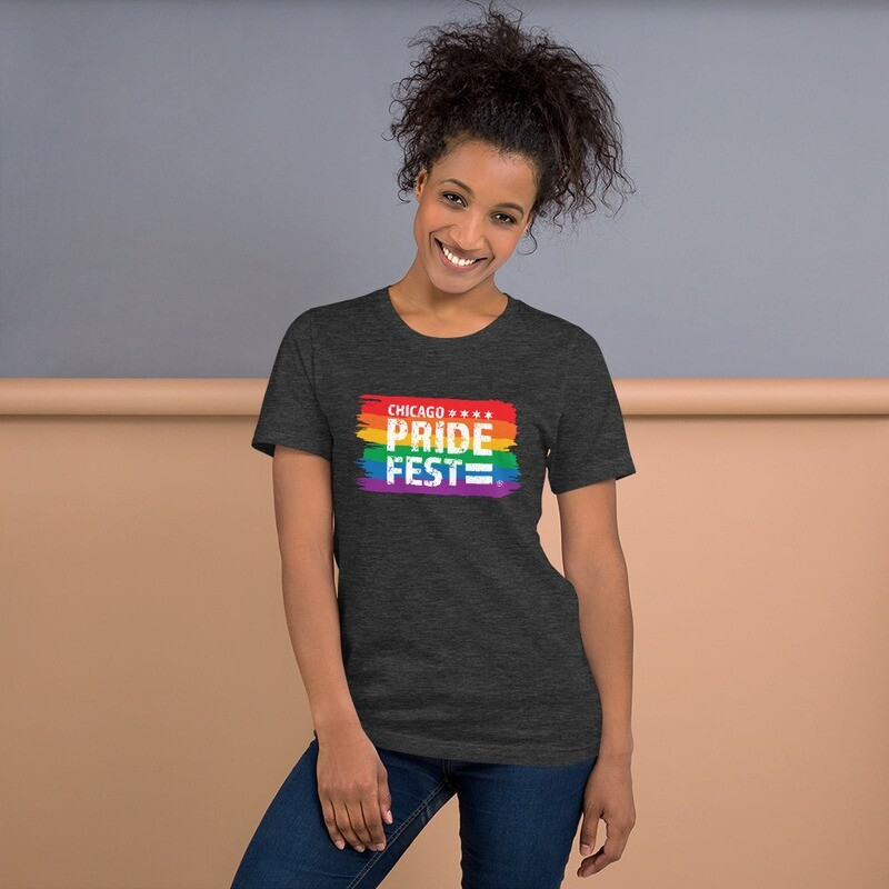 Chicago Pride Fest Flag Tshirt
