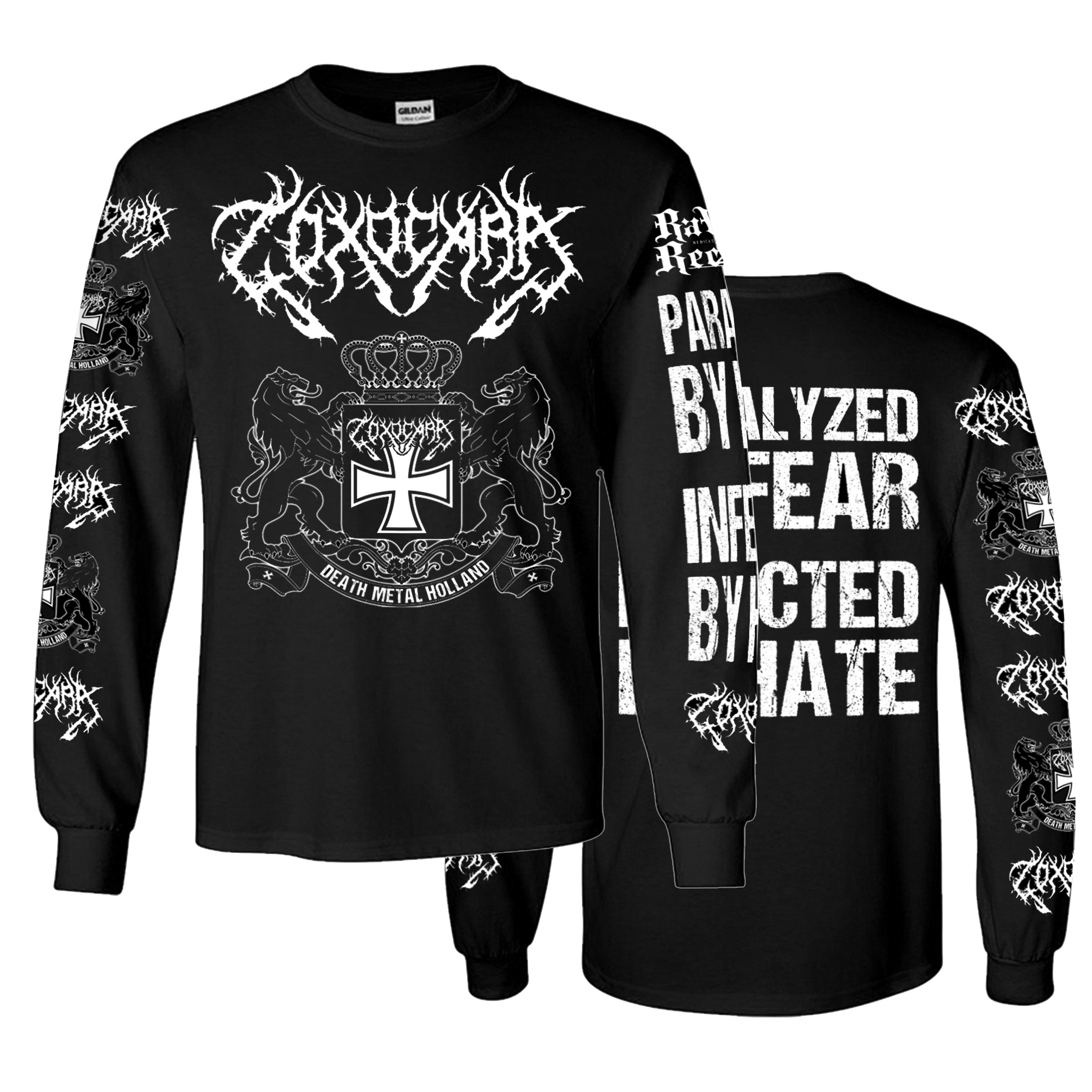 LONGSLEEVE Infected By Hate 00008