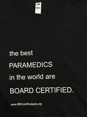 Best Paramedics in the World T-shirt