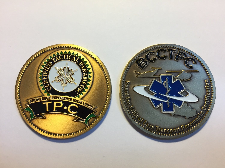 TP-C Challenge Coin