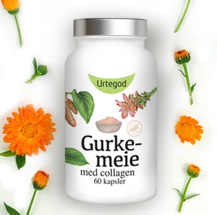 Gurkemeie med collagen