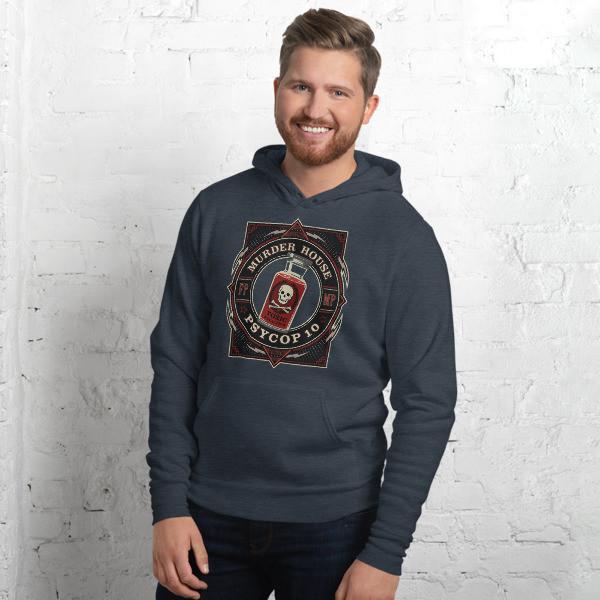 PsyCop Murder House Unisex hoodie