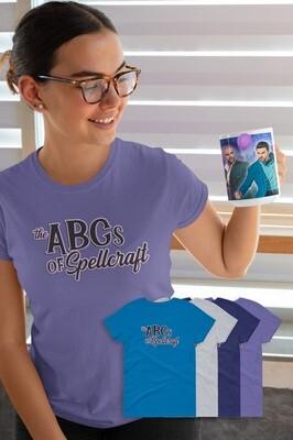 FUNDRAISER ABCs of Spellcraft Women's short sleeve t-shirt