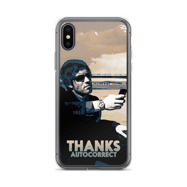 Victor Bayne PsyCop iPhone Case