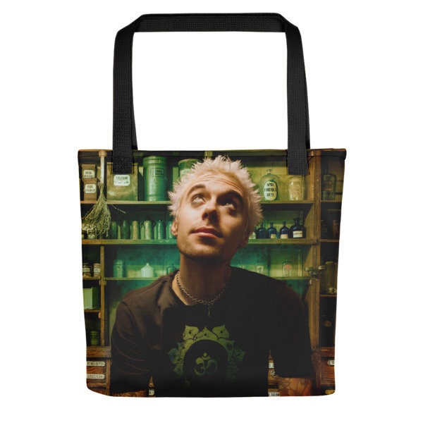 Crash PsyCop Tote bag