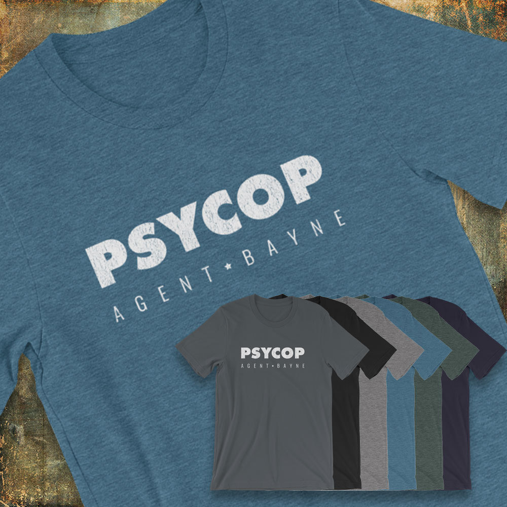 Agent Bayne Distressed Logo Short-Sleeve Unisex T-Shirt