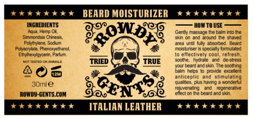 Beard Moisturizer