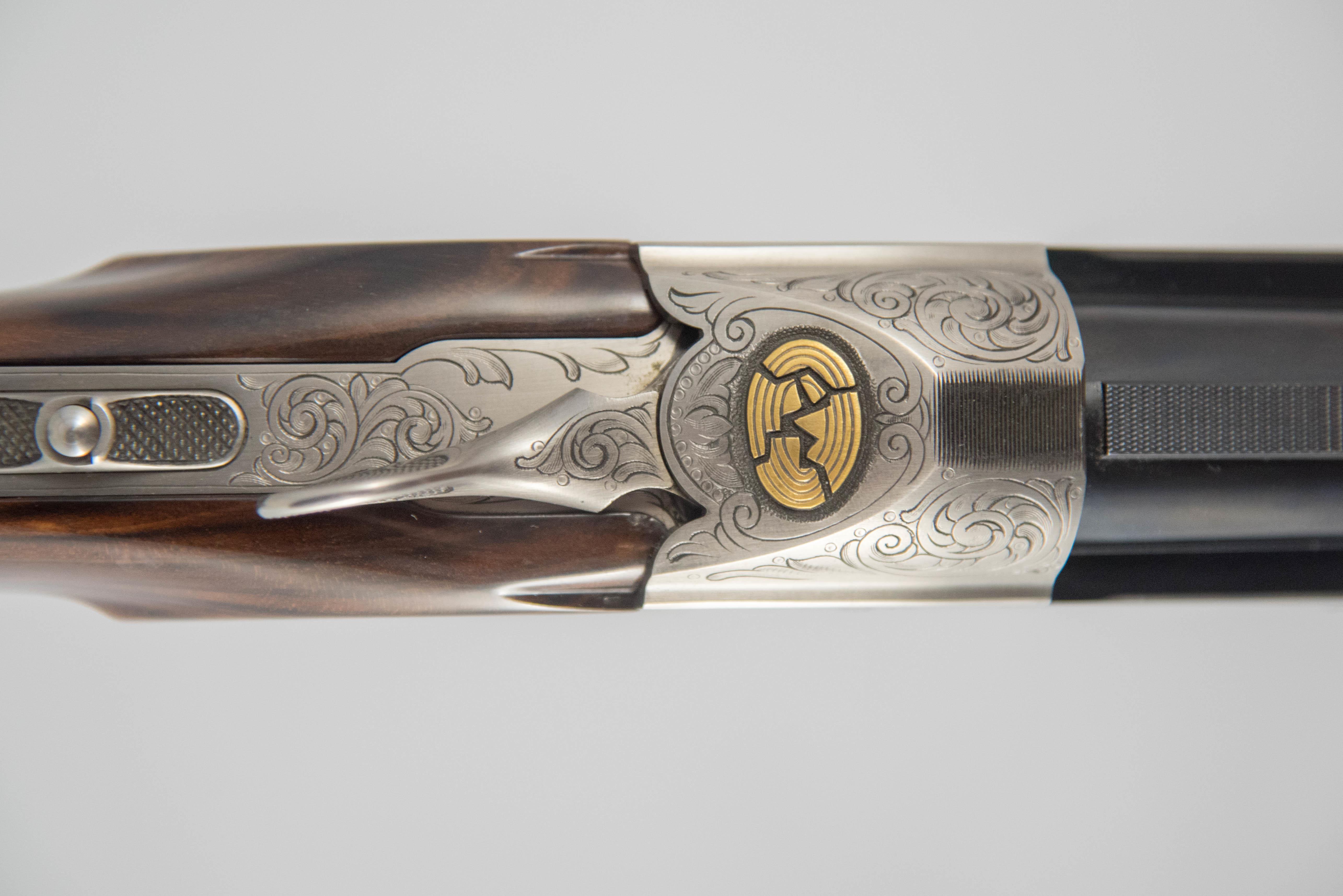 "Pre-Owned Krieghoff K80 Parcour Gold Line Super Scroll 12GA 32"""