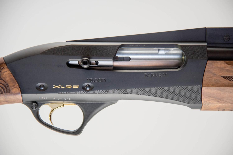 Fabarm XLR5 Velocity AR Black Anodized 12GA 30