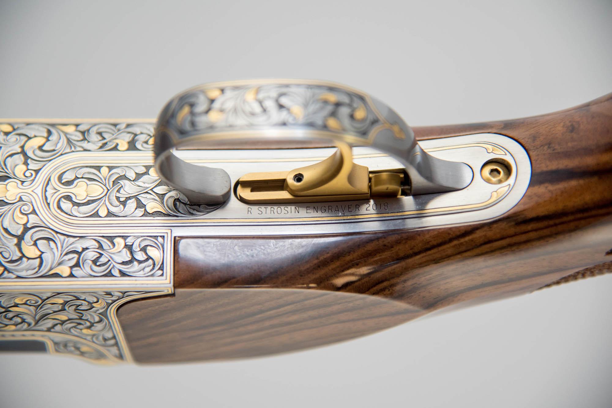 """Kolar Max Lite Sporting Custom Strosin Gold 12GA 32"""""""