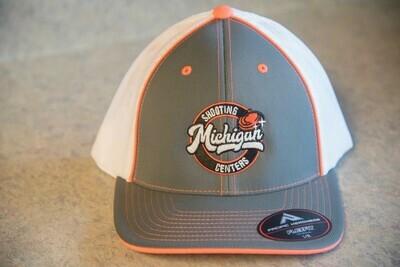 Pacific 404M Trucker Hat - Grey/Orange