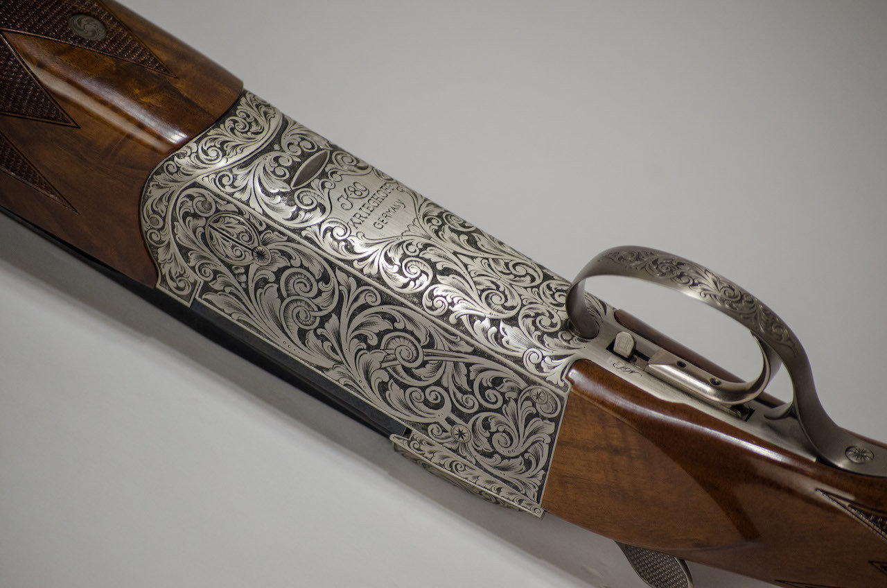 Krieghoff K80 Asprey Scroll Sporting 12GA 32″