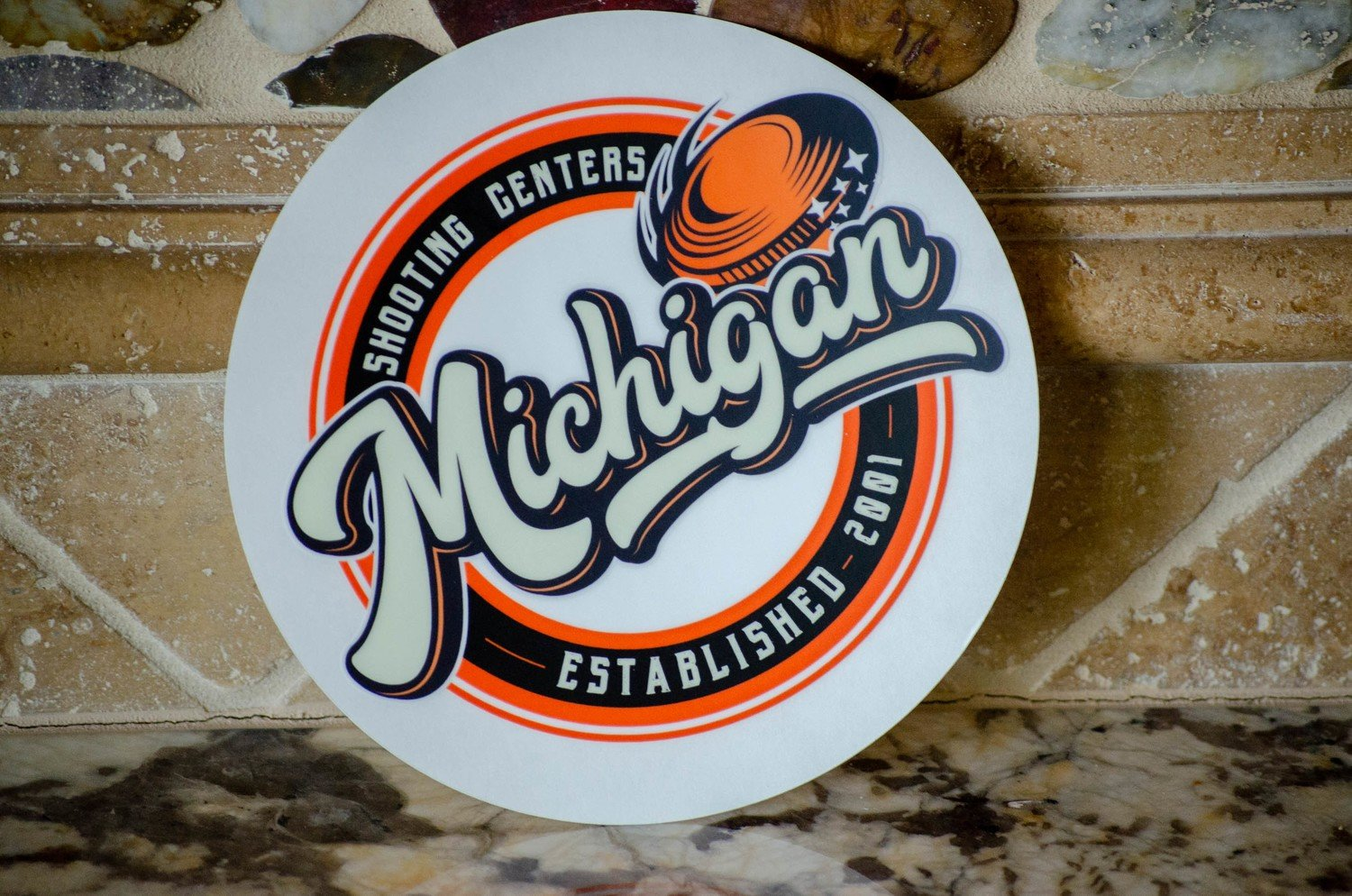Michigan Shooting Centers Decal
