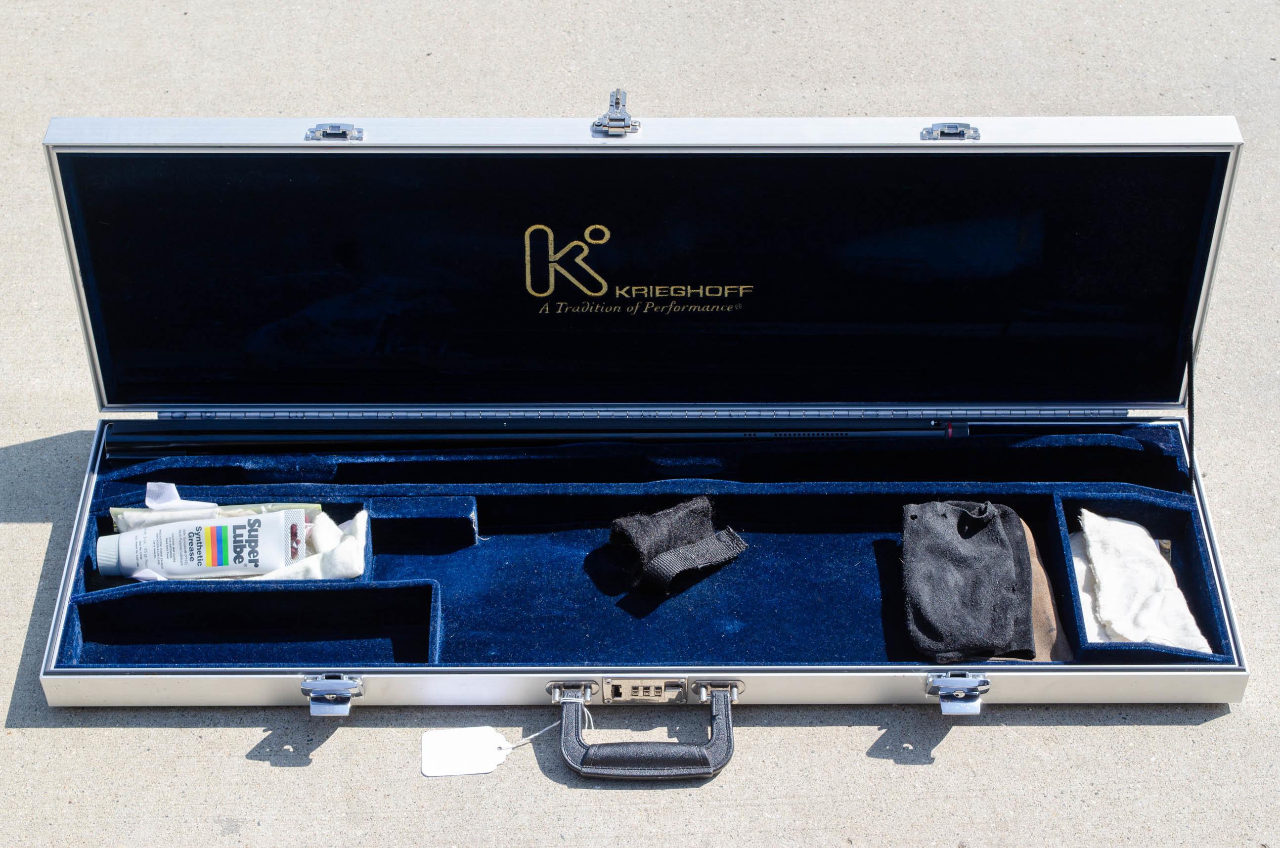 "Pre-Owned Krieghoff K80 Gold Danube Sporting 12GA 32""/28"""