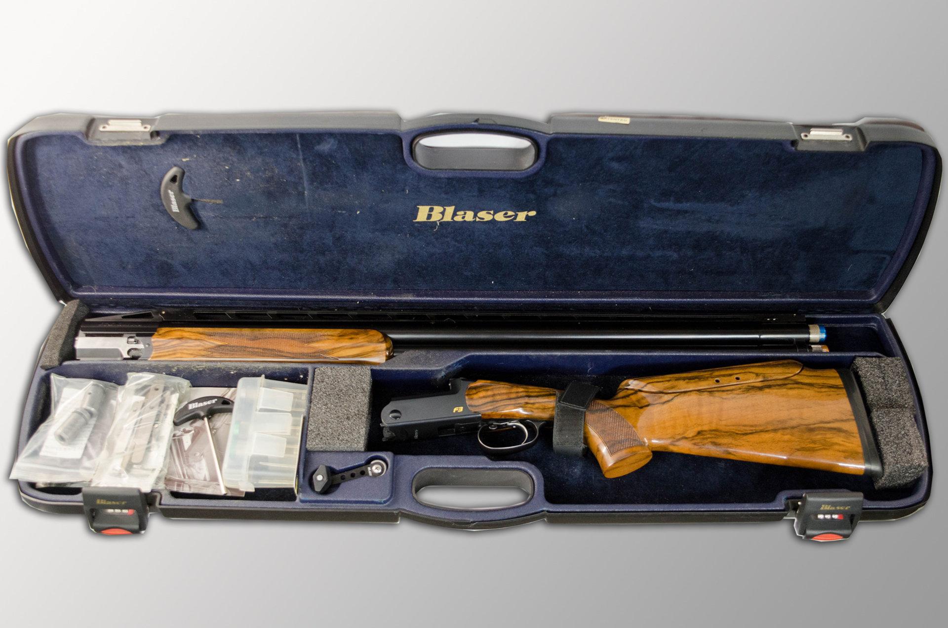 Pre-Owned Blaser F3 Super Sport 12GA 32″ Left Handed