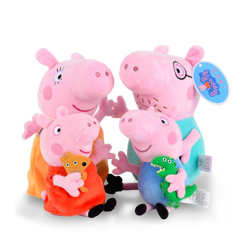 Peppa Pig Family Plush Toys 19/30cm 00002