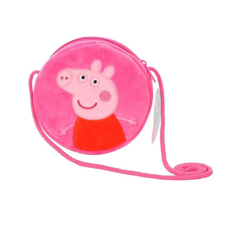 Peppa Pig Handbag, Circle Shape / 15cm 00005