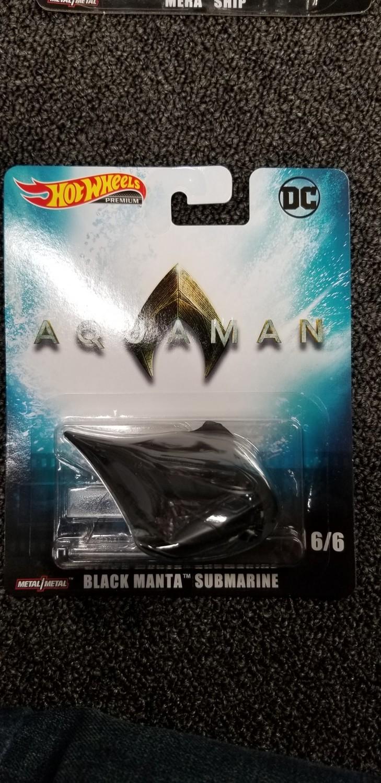 Hot Wheels - DC - Black Manta Submarine