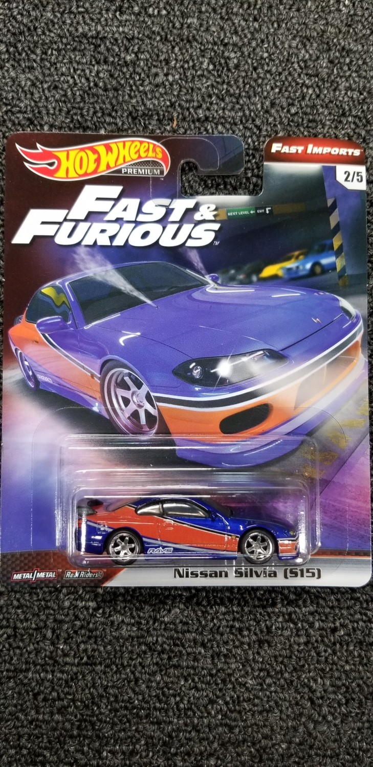 Hot Wheels - Fast & Furious - Nissan Silvia (S15)