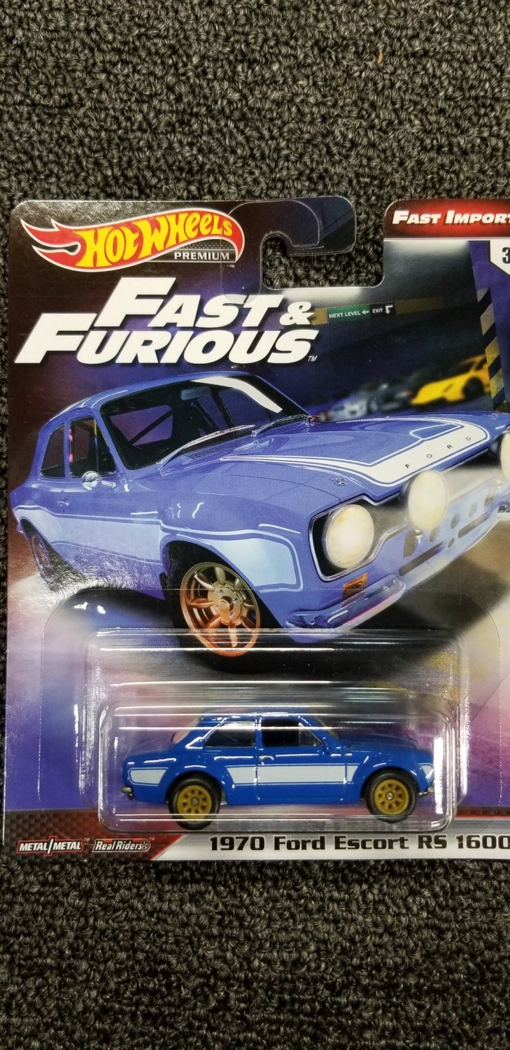 Hot Wheels - Fast & Furious - 1970 Ford Escort RS 1600