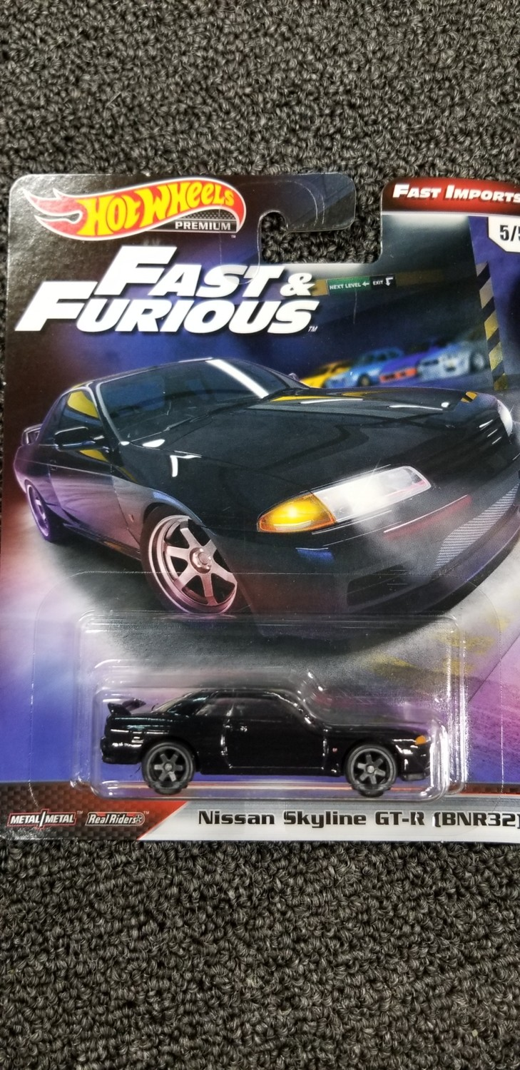 Hot Wheels - Fast & Furious - Nissam Skyline GT-R (BNR32)
