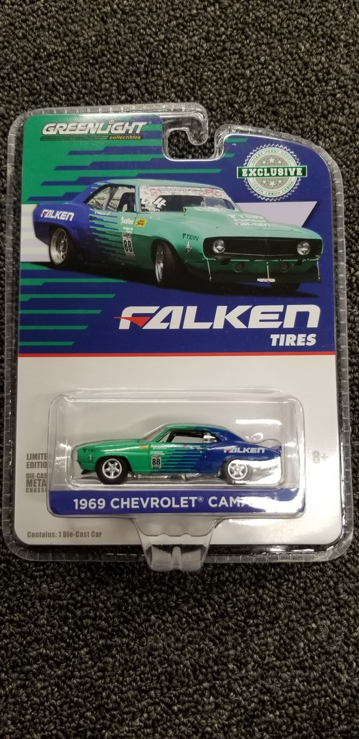 Greenlight - Falken Tires - 69 Chevrolet Camaro