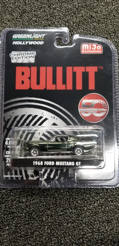 Greenlight - Bullitt - 68 Ford Mustang GT