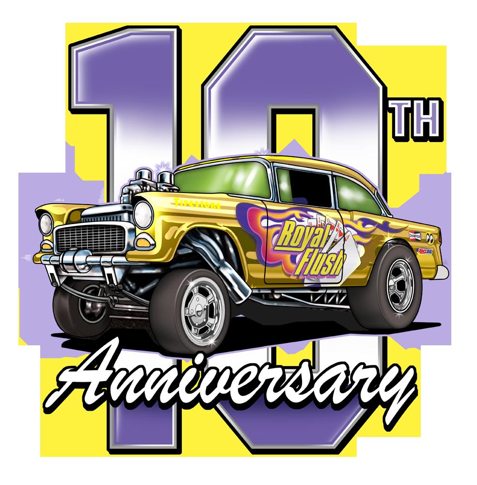 Summer Convention Series 10th Anniversary Drag Bus - Hot Wheels Summer Smash
