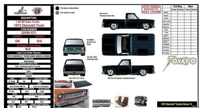 M2 '73 Silverado 1 0f 750 ToyXpo Exclusive Pre Order