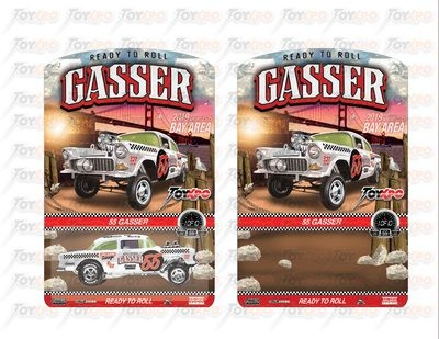 ToyXpo Pre Order '55 Gasser by Michael Heralda