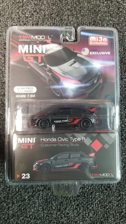 TSM Model - Mini GT - Honda Civic Type R - Customer Racing Study
